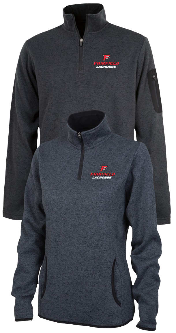 05c9a50e Fairfield Lacrosse Heathered Fleece Pullover - Fairfield University Lacrosse  - Anchors Aweigh Online Store